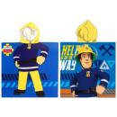Großhandel Bad- und Frottierwaren: Fireman Sam, Sam  das Feuer Badetuch Poncho