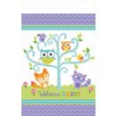 Großhandel Tischwäsche: Welcome Baby-Party  Tischdecke 137 * 259 cm