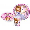 Vaisselle, ensembles de mélamine de Disney Sofia,