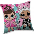 LOL Surprise pillow, decorative pillow 40 * 40 cm