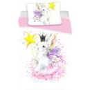 Großhandel Home & Living: Kinderbettwäsche Bunny , Hase 100 × 135 cm, 40 × 6