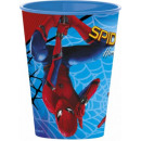 Spiderman, Spider glass, plastic 260 ml