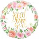 Baby Girl Fólia lufi 43 cm