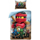 LEGO Ninjago bed linen 140 × 200cm, 70 × 90 cm