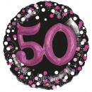 Happy Birthday 50 Foil Balloons 81 cm