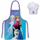 Kid's Apron with 2 Pieces Set for Disney froze