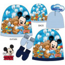 Baby cap + glove set Disney Mickey