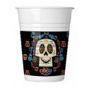 wholesale Drinking Glasses: Disney Coco Plastic cup 8 pcs 200 ml