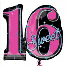 Happy Birthday 16 Foil Balloons 71 cm