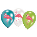 wholesale Figures & Sculptures: Flamingo, Flamingo balloon, balloons with 6 pieces