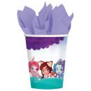 Enchantimals paper cup 8 pcs 250 ml