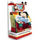 Sacchetto di scuola + 3 piani penna Disney Mickey