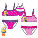 Children's badpak, bikini Minions 3-8 jaar
