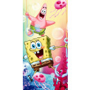 SpongeBob bath towel, beach towel 70 * 140cm