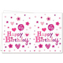 wholesale Gifts & Stationery: Happy Birthday  Girl Table Cover 120 * 180 cm