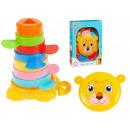 Tiger Baby Pyramid Builder 9 Piece Toy