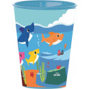 Baby Shark cup, plastic 260 ml