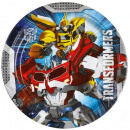 Transformers Paper Plate 8-piece 23 cm