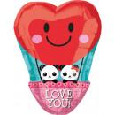 Palloncini Foil Love 43 * 33 cm