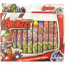 Crayon 12 pcs Avengers , Avengers