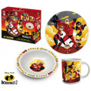 Children's Tableware Porcelain Disney The Incr
