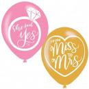 Hochzeit, Hochzeitsballon, Ballons mit 6 Stück