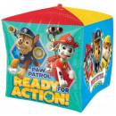 Paw Patrol , Paw Patrol Foil Balloon Cube 38 cm