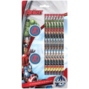 groothandel Stationery & Gifts: Potlood gum 7 + 2 Set Avengers