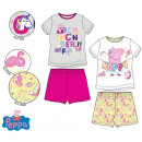 Peppa pig kid with short sleeves pyjamas 3-6 years