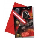 Star Wars Party Invitation 6 pcs