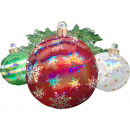 Hologram Ornaments, Christmas Tree Ornament Foil B