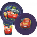 Tableware, plastic Set Disney Cars, Cars