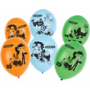 Rusty Rivets balloon with 6 balloons