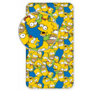 The Simpson family Fitted Sheet 90 * 200 cm