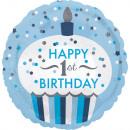Palloncini Foil First Birthday 43 cm