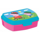 grossiste Fournitures scolaires:Sandwich Box Peppa Pig