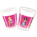 wholesale Party Items: DisneyPrincess , Princesses plastic cup 8 pcs