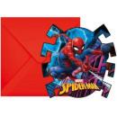 Spiderman , Zaproszenie na przyjęcie Spiderman 6 s