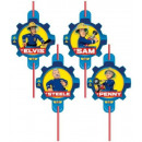 Fireman Sam , Sam is a fire extinguisher, 8 pcs se