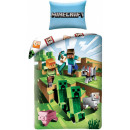 Minecraft bedding covers 140 × 200 cm, 70 × 90 cm
