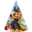 Paw Patrol , Manch Guard Parti hat, csákó 6 db-