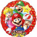 Super Mario Musikfolienballons 71 cm