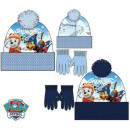 Kids' Hat + Glove Set Paw Patrol