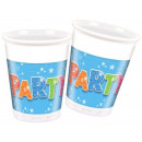 Party Plastic cup 8 pieces 200 ml