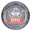 wholesale Barbecue & Accessories: BBQ Paper tray 8 pieces 23 cm