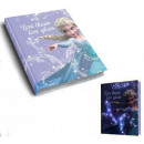 LED light illuminated diary Disney frozen