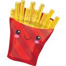French Fries, Sültkrumpli Fólia lufi 71 cm