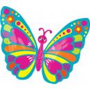 Butterfly, Butterfly foil balloons 66 cm