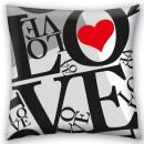 wholesale Cushions & Blankets: Love, Love pillow, decorative pillow 40 * 40 cm
