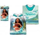mayorista Artículos con licencia: DisneyVaiana poncho de toalla de playa 50 * 100cm